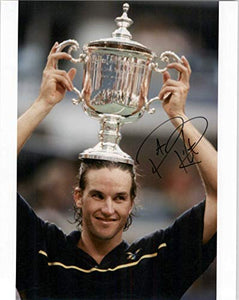 Patrick Rafter Signed Autographed Tennis Glossy 8x10 Photo 513097 - COA Matching Holograms