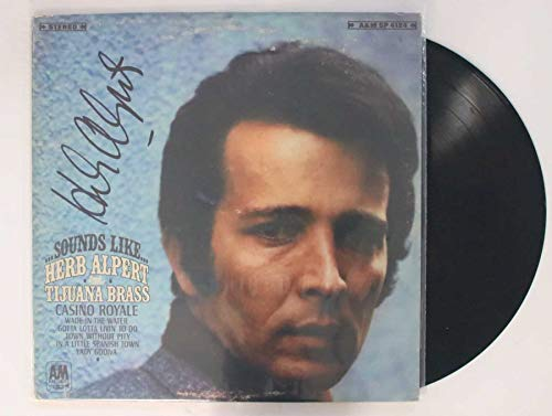 Herb Alpert Signed Autographed 'Casino Royale' Record Album - COA Matching Holograms