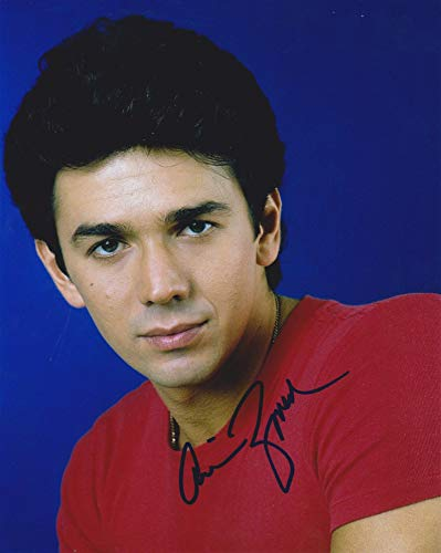 Adrian Zmed Signed Autographed 'T.J. Hooker' Glossy 8x10 Photo - COA Matching Holograms