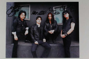 """Autograph"" Band Autographed Glossy 8x10 Photo - COA Matching Holograms"