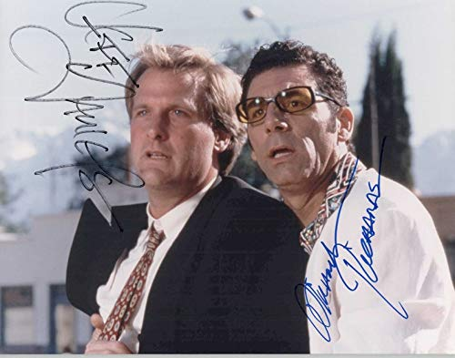 Jeff Daniels & Michael Richards Signed Autographed 'Trial & Error' Glossy 8x10 Photo - COA Matching Holograms