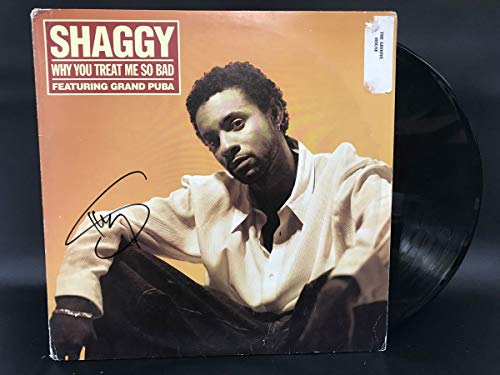 Shaggy Signed Autographed 'Why You Treat Me So Bad' Record Album - COA Matching Holograms