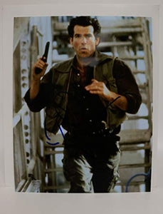 Pierce Brosnan Signed Autographed 'James Bond 007' Glossy 11x14 Photo - COA Matching Holograms