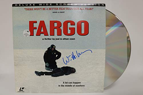 William H. Macy Signed Autographed 'Fargo' Laser Disc - COA Matching Holograms