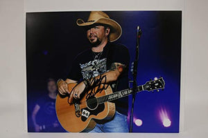Jason Aldean Signed Autographed Glossy 11x14 Photo - COA Matching Holograms