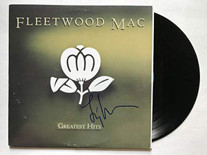 Lindsey Buckingham Signed Autographed 'Greatest Hits' Record Album - COA Matching Holograms