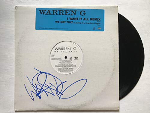 Warren G Signed Autographed 'We Got That' Record Album - COA Matching Holograms