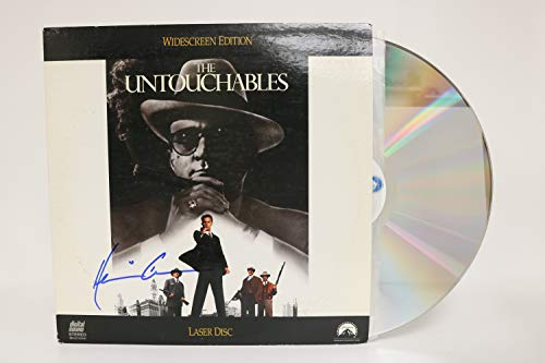 Kevin Costner Signed Autographed 'The Untouchables' Laser Disc - COA Matching Holograms