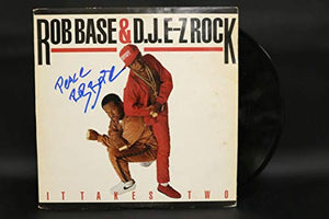 Rob Base Signed Autographed 'It Takes Two' Record Album - COA Matching Holograms