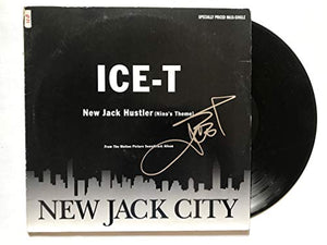 Ice-T Signed Autographed 'New Jack City' Record Album - COA Matching Holograms