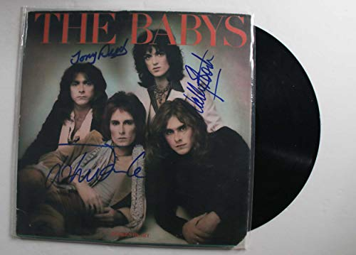 The Babys Band Signed Autographed 'Broken Heart' Record Album - COA Matching Holograms