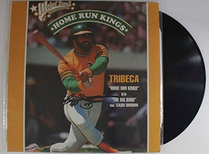 "Reggie Jackson Signed Autographed ""Home Run Kings"" Record Album - COA Matching Holograms"
