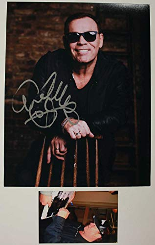 Ali Campbell Signed Autographed 'UB40' Glossy 11x14 Photo - COA Matching Holograms