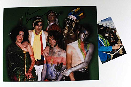 Kevin Barnes Signed Autographed 'Of Montreal' Glossy 11x14 Photo - COA Matching Holograms