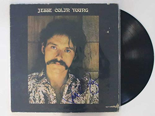 Jesse Colin Young Signed Autographed