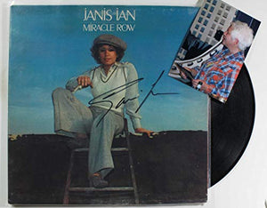 Janis Ian Signed Autographed 'Miracle Row' Record Album - COA Matching Holograms