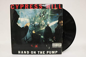 Cypress Hill Band Signed Autographed 'Hand on the Pump' Record Album - COA Matching Holograms