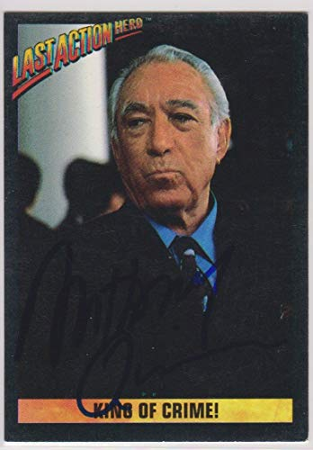 Anthony Quinn (d. 2001) Signed Autographed 1993 Last Action Hero Trading Card - COA Matching Holograms
