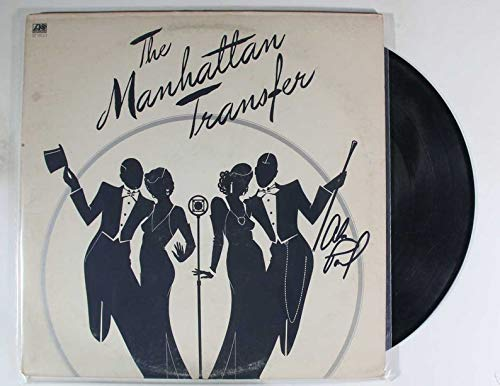 Alan Paul Signed Autographed 'Manhattan Transfer' Record Album - COA Matching Holograms