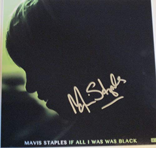 Mavis Staples Signed Autographed 'If All I Was Was Black' 12x12 Promo Photo - COA Matching Holograms