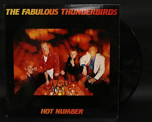 Kim Wilson Signed Autographed 'The Fabulous Thunderbirds' Record Album - COA Matching Holograms