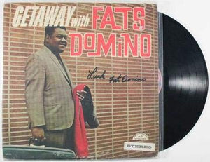 Fats Domino Signed Autographed 'Getaway With Fats Domino' Record Album - COA Matching Holograms