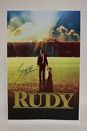 Sean Astin Signed Autographed 'Rudy' Glossy 11x17 Movie Poster - COA Matching Holograms