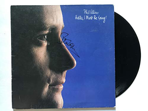 Phil Collins Signed Autographed 'Hello, I Must Be Going' Record Album - COA Matching Holograms