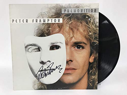 Peter Frampton Signed Autographed 'Premonition' Record Album - COA Matching Holograms
