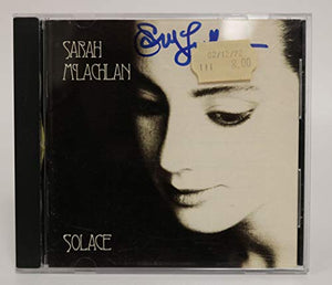Sarah McLachlan Signed Autographed 'Solace' Music CD - COA Matching Holograms