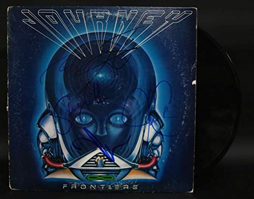 Journey Band Signed Autographed 'Frontiers' Record Album - COA Matching Holograms