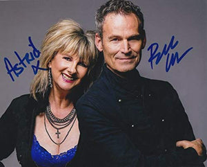 Astrid Plane & Bill Wadhams Signed Autographed 'Animotion' Glossy 8x10 Photo - COA Matching Holograms