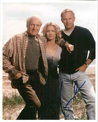 Kevin Costner Signed Autographed 'Message in a Bottle' Glossy 8x10 Photo - COA Matching Holograms