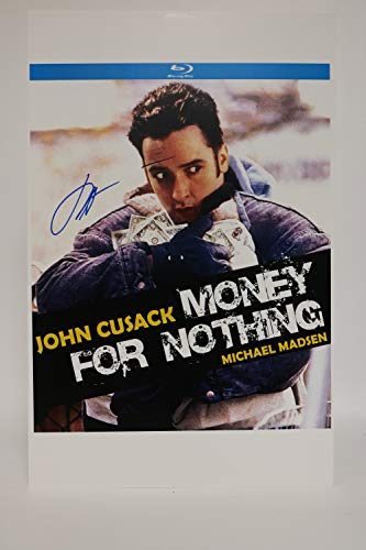 John Cusack Signed Autographed 'Money For Nothing' Glossy 11x17 Movie Poster - COA Matching Holograms