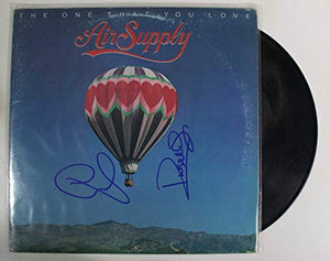 Graham Russell & Russell Hitchcock of Air Supply Signed Autographed 'The One That You Love' Record Album - COA Matching Holograms