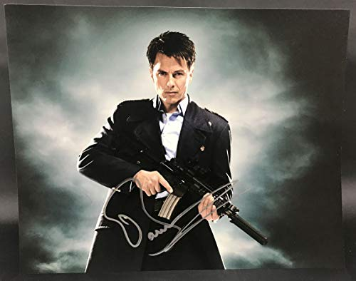 John Barrowman Signed Autographed 'Dr. Who' Glossy 11x14 Photo - COA Matching Holograms