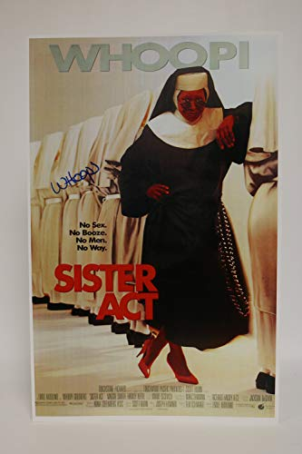 Whoopi Goldberg Signed Autographed 'Sister Act' Glossy 11x17 Movie Poster - COA Matching Holograms