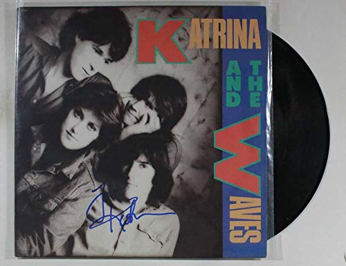 Katrina Leskanich Signed Autographed 'Katrina and the Waves' Record Album - COA Matching Holograms