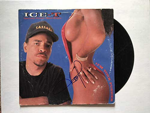 Ice-T Signed Autographed 'Specially Priced' Record Album - COA Matching Holograms