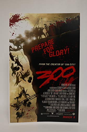 Frank Miller Signed Autographed '300' Glossy 11x17 Movie Poster - COA Matching Holograms