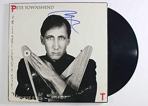 Pete Townshend Signed Autographed 'Chinese Eyes' Record Album - COA Matching Holograms