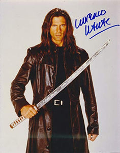 Lorenzo Lamas Signed Autographed 'Highlander' Glossy 8x10 Photo - COA Matching Holograms