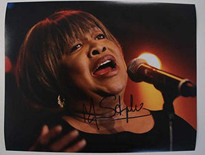 Mavis Staples Signed Autographed Glossy 11x14 Photo - COA Matching Holograms