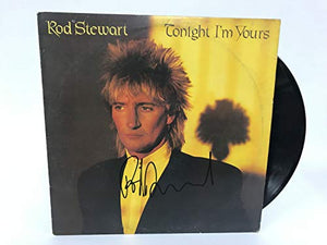 Rod Stewart Signed Autographed 'Tonight I'm Yours' Record Album - COA Matching Holograms