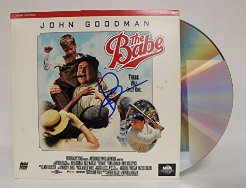 John Goodman Signed Autographed 'The Babe' Laser Disc - COA Matching Holograms