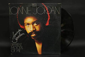 Lonnie Jordan Signed Autographed 'Different Moods of Me' Record Album - COA Matching Holograms