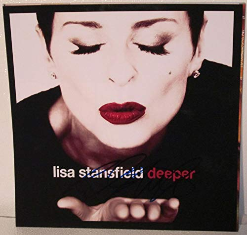 Lisa Stansfield Signed Autographed 'Deeper' 12x12 Promo Photo - COA Matching Holograms