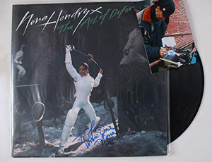 Nona Hendryx Signed Autographed 'The Art of Defense' Record Album - COA Matching Holograms