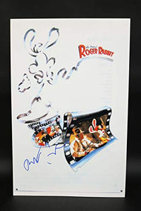 Robert Zemeckis Signed Autographed 'Roger Rabbit' Glossy 11x17 Movie Poster - COA Matching Holograms