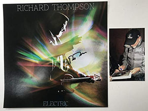 Richard Thompson Signed Autographed 'Electric' 12x12 Promo Photo - COA Matching Holograms
